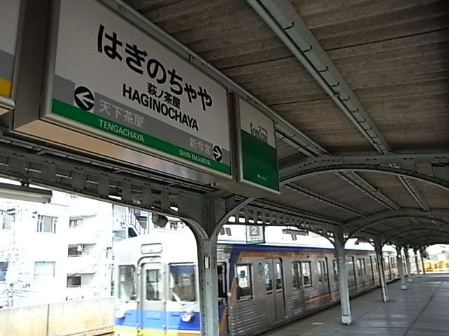 南海電気鉄道 萩ノ茶屋駅: とち狂って全線乗り潰す気かい? ア八ッ!